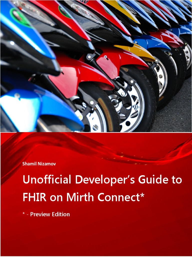Unofficial Developer's Guide to FHIR on Mirth Connect   Json