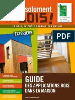 Guide Des Applications Bois Dans La Maison
