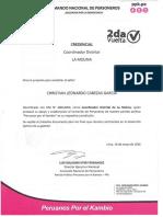 Informe Personeros La Molina Ppk 2016 Responsable Cristhian Cabezas Garcia