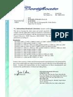 Certificat Dvr 4 Canale - Vidy 4