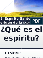 El Espíritu Santo y El Origen de La Trinidad