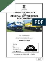 Introduction Handbook on General Motor Diesel Locomotives