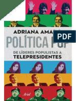 Amado Adriana Política Pop