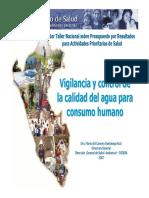 VigilanciaControlDeLaCalidadDeAgua(DIGESA-MINSA)