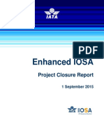 E-IOSA Project Closure Report 2015