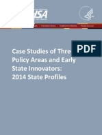 SAMSHA - Case Studies of Three Policy Areas and Early State Innovators_ 2014 State Profiles.pdf