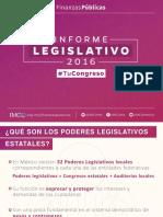 Informe Legislativo de Los Congresos Locales 2016