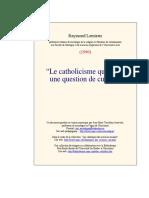 Le catholicisme québécois - une question de culture.pdf