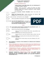 Senarai Semak Borang a 2