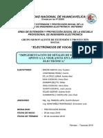 Proyecto de Extension y Proyeccion Social Electronicvos de Vpcacion
