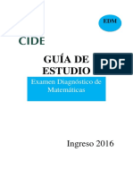 Guia de Estudio EDM CIDE