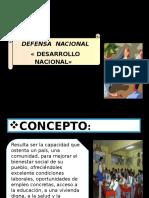 Presentacion de Desarrollo Nacional Exposicion