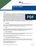 Amendment of ISO 13849-1