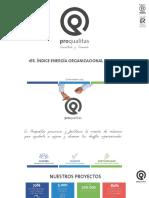 1er Índice de Energía Organizacional Chilena - Proqualitas