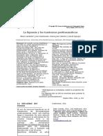 178 - Hipnosis -La Hipnosis y los trastornos post-traum.doc