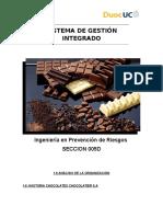 Informe Fabrica Chocolate
