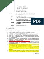 0xx Informe Tecnico Formularios Dtep-dpr-revisado Por Ronald