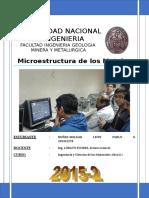 1° MICROESTRUCTURAS DE LOS METALES