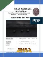 10° REVENIDO DEL ACERO