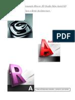 Tutorial Transformando Blocos 3D Studio Max AutoCAD Para o Revit Architecture (1) (1)