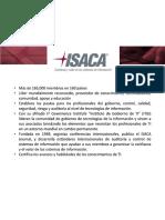 Presentación ISACA - Estudiantil