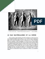 207751371 Le Bas Materialisme Et La Gnose