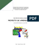 94332199 Guia Practica Para Elaborar Proyectos de Aprendizaje