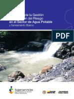 Gestión Riesgo - Agua Potable