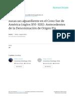 Rutas Del Aguardiente en El Cono Sur de America Si
