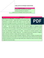 Diario de Campo Sobre Las Estrategias Implementadas