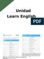 Primer Modulo de Ingles