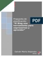 """""""El Blog una herramienta para expresarnos y aprender"""""""
