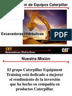 Curso Excavadoras Caterpillar Inspeccion Seguridad Mantenimiento Tecnicas Operacion