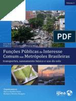 Livro Governanca Função Publica de Interesse Comum Vol2 IPEA