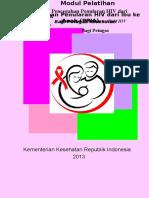 Cover & Daftar Isi MODUL PELATIHAN Edit 22sept2013