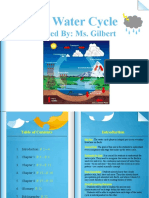 water cycle e-book