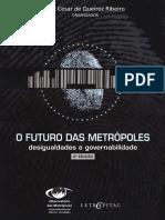 O Futuro Das Metrópoles