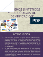 Polímeros Sintéticos y Sus Códigos de Identificación