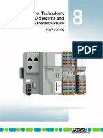 8 - Control Technology, IO Systems and Infrastructure
