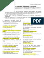Control de Lectura Domiciliaria 2do Medio