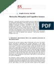 Kremer-Marietti - Nietzsche Metaphor & Cognitive Science