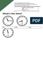 Worksheet the Time BASIC