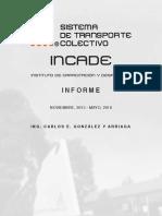 STCM - INCADE - Informe (Adaptación a Carta)