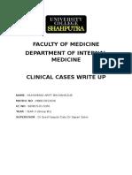internal medicine case write up 1