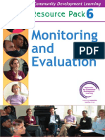 Monitoriong and Evaluation