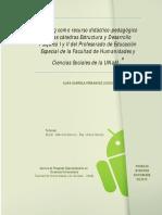 El blog como recurso didáctico pedagógico en las cátedras EyDP 1 y 2.
