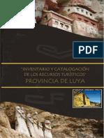 INVENTARIO DE RESCURSOS TURISTICOS DE LA PROVINCIA DE LUYA - 2009.doc