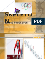 SKELETON Olympic Sport