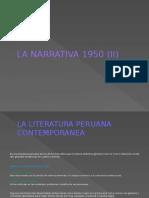 La Narrativa 1950 (II)