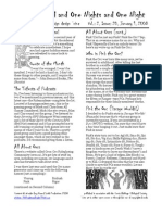 Issue #20, One Thousand and One Nights and One Night RPG Campaign Design 'zine